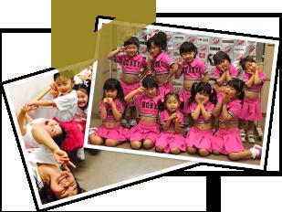 幼稚園内でのダンスレッスン